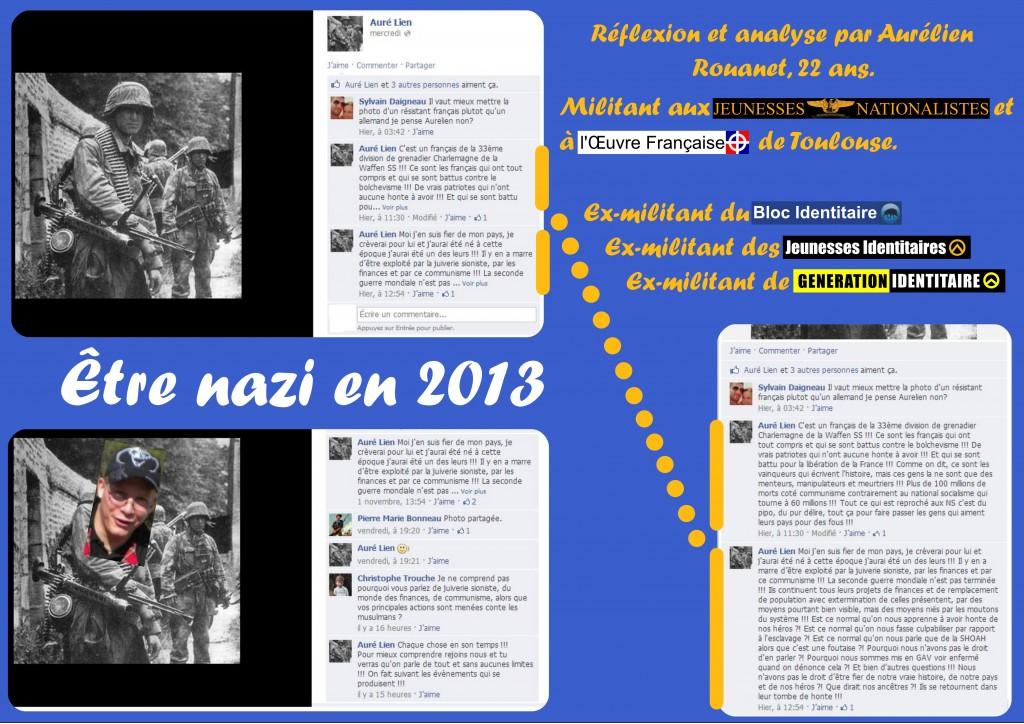 Fafwatch Midi-Pyrénée se lance hasardeusement dans l'infographie. Cliquez pour agrandir et vous instruire sur ce que pense vraiment un militant des Jeunesses Nationalistes.