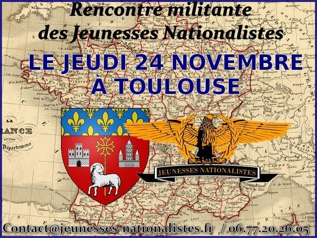 Rencontre dans le cadre d'une tournée nationale avec les JN à Toulouse en 2011.