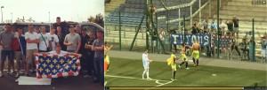 Le 16 aout 2013. Nicolas Boutin, debout en polo blanc et un échantillon des Turons 1951 se rendent à Châteauroux. (lien vidéo http://www.dailymotion.com/video/x139b3y_chateauroux-lbc-tours-fc-tours-le-resume-du-match-3eme-journee-2013-2014_sport).